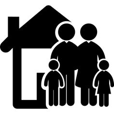 Family of four in front of their home free vector icons designed by Freepik Cartoon Posters, Retro Cartoons, Cartoon Kids, Family Of Four, Cute Family, Vector Icons, Vector Free, Icon Png, Family Vector