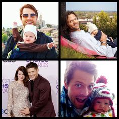 Happy Father's Day to Jensen, Jared and Misha!West, Thomas, Justice and Maison have great dads