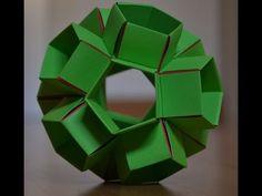 kusudama Icosaedro truncado solido de Arquimedes - YouTube