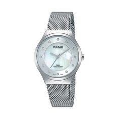 Pulsar Ladies stainless steel bracelet watch ph8131x1 | Debenhams