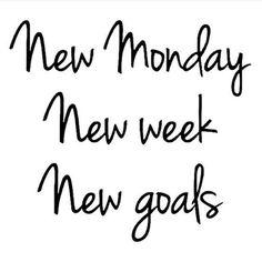 New Monday! New Week! New Goals! #EntrepreneurLife #LoveMyLife #RealtorLife #RealEstateAgent #RaleighRealtor