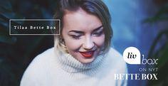 Osallistu facebookissa joulukalenteri arvotaan ja voita palkintoja joka päivä. https://www.facebook.com/betteboxfi