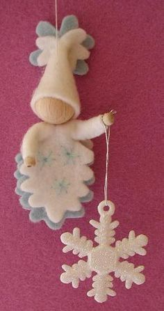 Atelier Pippilotta :: Schatkist - so many cute little felt faeries!