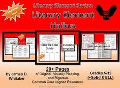 Haikus Creating Literary Element Haikus  -- 20+ Pages!