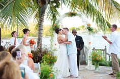 #Orange wedding, waterside, #Neptune's Terrace, #Pelican Bay Hotel. Photo by Lyndah Wells Photography.