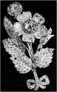 From Her Majesty's Jewel Vault: The Vanguard Rose Brooch belonging to HM Queen Elizabeth II