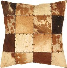 Cowhide Brindle Mix Cushion Pillow