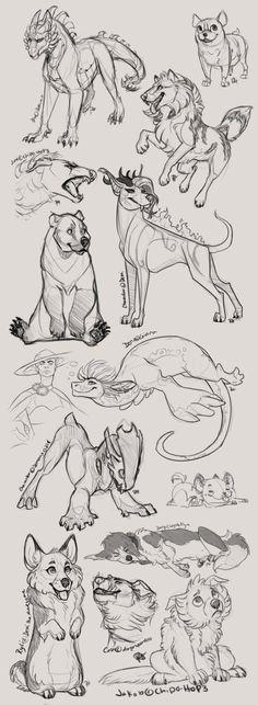 November Sketches 2014 by Chipo-H0P3 on DeviantArt