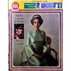 Point De Vue Images Du Monde N° 1317 Du 19/10/1973 - L'impetratrice Farah - Une Future Reine Beatrix Des Pays-Bas - Anne A Un Mois Du Mariage.