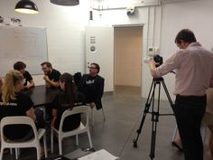 Our interns becoming movie stars - Interview with our CEO and The International Business Times.