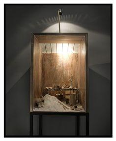 giacometti´s studio by Charles Matton