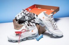 Are You Waiting For The OFF-WHITE x Nike Air VaporMax White?      Virgil Abloh's OFF-WHITE x Nike Air VaporMax is making another comeback this year and in a new colorway of white that is perfect for spring/sum... http://drwong.live/sneakers/off-white-x-nike-air-vapormax-white-detailed-look/ Sneakers Box, New York Fashion, Milan Fashion Weeks