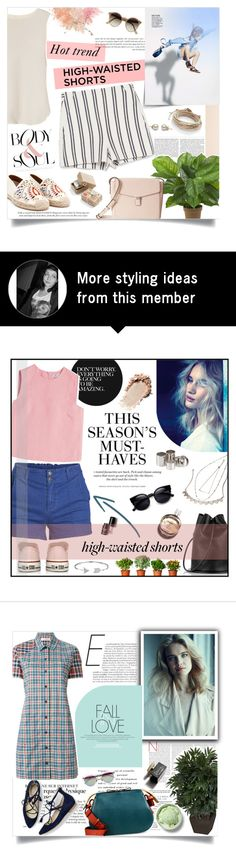 """High-waisted shorts"" by viola-vu on Polyvore"