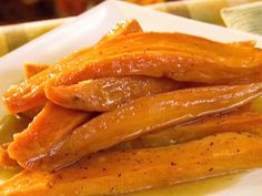 Glazed Sweet Potatoes recipe from Patrick and Gina Neely via Food Network