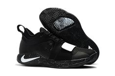 fc9f5e51862d 2018 Nike PG 2.5 Black White Paul George Shoes Free Shipping Paul George  Shoes