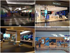 Interesting how the apple samsung shaw and sony experience stores all carry the same theme