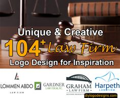 104+ Modern & Best Law Firm Logo Design for Your Inspiration