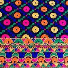 Half Yard-Black Embroidered Georgette Fabric-Wedding Lehenga-Table Runner-Sequin…