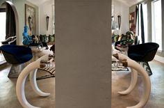 Judy Aldridge's home via Swoon