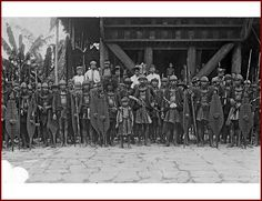 SOUTH NIAS WARRIORS READY TO RUMBLE C.1910