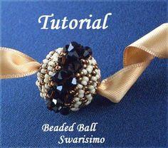 TUTORIAL Beaded Swarisimo  Bead pattern by Ellad2 on Etsy, $5.00