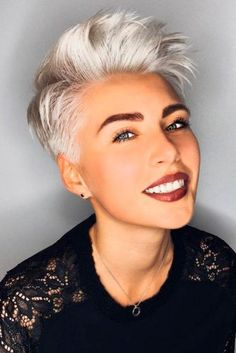 Short Haircut Styles for Straight Hair ★ See more: http://lovehairstyles.com/short-haircut-styles-for-straight-hair/