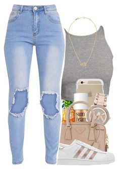 Universal studios by xomadibbyyy on Polyvore featuring polyvore fashion style adidas Originals Prada Michael Kors Tory Burch Benefit clothing