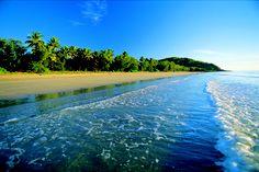 Beautiful Four Mile Beach in Port Douglas