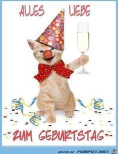 Happy Birthday, Teddy Bear, Christmas Ornaments, Holiday Decor, Animals, Sentences, Happy New Year, Cats, Birthdays