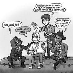 PART Pretty sure drinking and doing drugs with a concussion is a bad idea. Part 1 Part 2 Fallout 4 New Vegas, Fallout 4 Funny, Fallout Comics, Fallout Fan Art, Scrolls Game, Vault Tec, Fall Out 4, Geek Humor, Manga Games