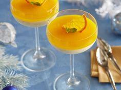 Апельсиновая панакотта