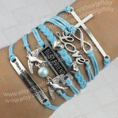 where there's a will there's a waycross bracelet by giftdiy, $9.99