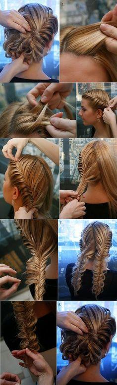 Elegant Braided Hairstyle