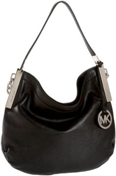 michael kors black silver purse