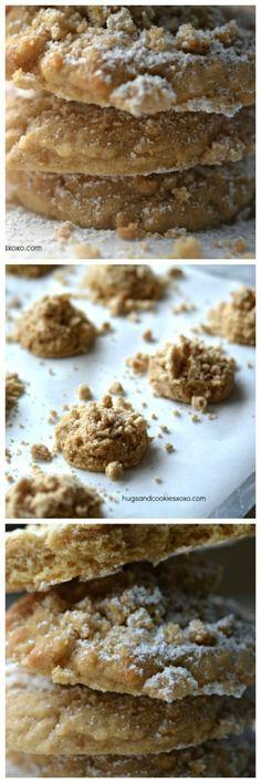Crumb Cake Cookies - Hugs and Cookies XOXO