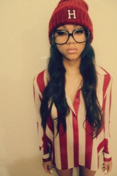 Girl, women, swagg, swag, style, beanie, nice, red, bordeaux