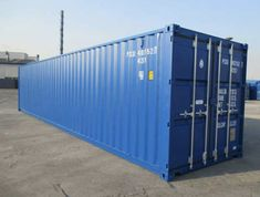 Seecontainer neuwertig, one-way, ISO Container Storage Containers For Sale, Shipping Container Storage, Shipping Containers For Sale, Recycling Containers, Iso Container, Container Cabin, Cargo Container, Container Conversions, Container Architecture