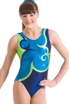 Amelia Bodice Gymnastics Leotard by Milano Pro Sport