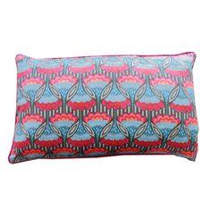 Jiti Fan Cotton Lumbar Pillow | AllModern