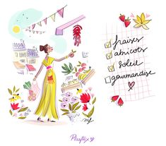 Fashion Illustration Sketches, Illustrations, Morning Beauty Routine, Me And My Dog, Fall Is Coming, Beautiful Sketches, Girly, Cute Gif, Cute Drawings