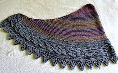 Ravelry: Henrietta Road Shawl pattern by Laura Miller free pattern