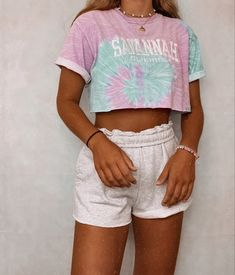 Cute Lazy Outfits, Casual School Outfits, Trendy Summer Outfits, Teenage Outfits, Teen Fashion Outfits, Simple Outfits, Outfits For Teens, Girl Outfits, Casual Summer