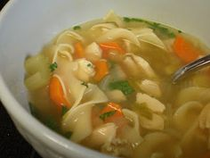 Yum! I love, love, LOVE soup. It is one of my favorite foods to eat, hot or cold.  I got really sick a couple weekends ago - surprise, surpr...