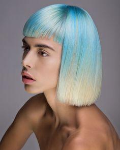 A Q U A • W A S H E D  Hair | Milica Shishalica Photo | Miklja Milenko Makeup | Magdalena Miljkov #pravana #pravanavivids #bluehair