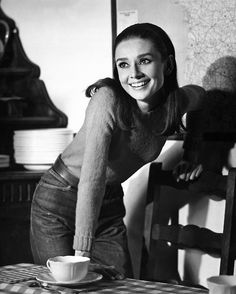 """Audrey once said: 'When you have nobody you can make a cup of tea for, when nobody needs you, that's when I think life is over.' For the film """"Wait Until Dark"""" she had to learn to do basic things o..."""