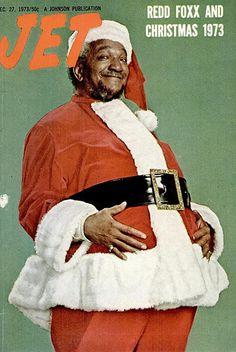 Redd Foxx - Jet Magazine - Christmas 1973