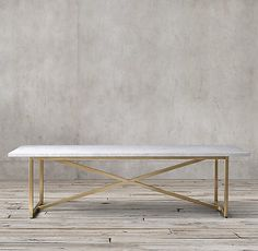 Torano Marble Rectangular Dining Table - 72x38 (multiple color combos available) - $2200