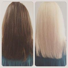 Hair colour change - the safe way! #hair