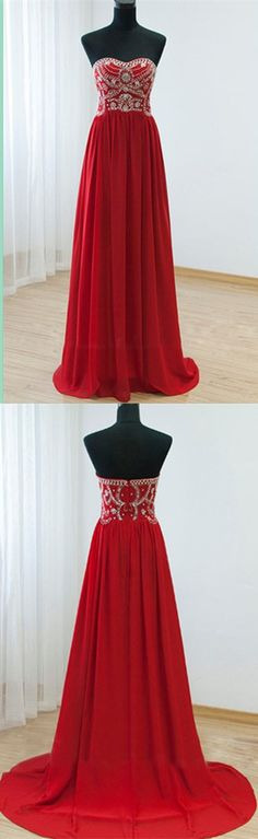 Burgundy Real Made Beading Long Prom Dress,Evening Dress ,Charming Prom Dresses