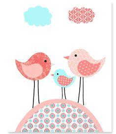 https://www.etsy.com/es/listing/222495840/nursery-art-print-birds-aqua-coral-peach?ref=related-1